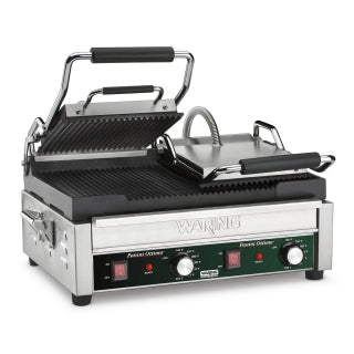 Waring WPG300 Dual Electric Sandwich/ Panini Grill, 240v/60/1-ph