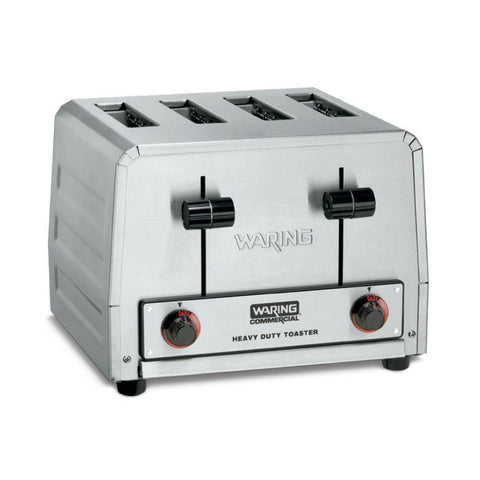 "Waring WCT805B Commercial Toaster, heavy-duty, (4) 1-1/8"" slots, 208v/50/60/1-ph"