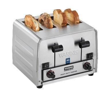 "Waring WCT850 Commercial Switchable Bagel/Bread Toaster, heavy-duty, (4) 1-1/2"" slots, 208v/50/60/1-ph"