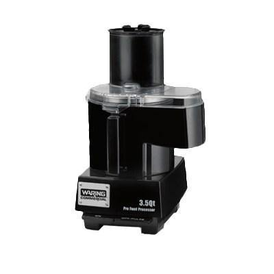 Waring WFP14SC Combination Continuous Feed & Batch Bowl Food Processor, 3.5 quart