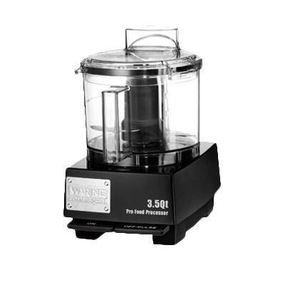 Waring WFP14SW Commercial Food Processor, 3.5 quart, 1 HP motor, 120v/60/1-ph