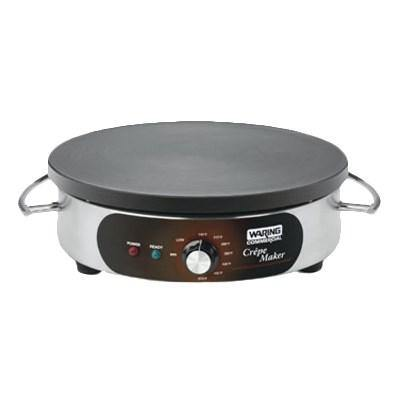 "Waring WSC165BX 16"" Crepe Maker, electric, 16"" cast iron cook surface, 208/240v/60/1-ph"