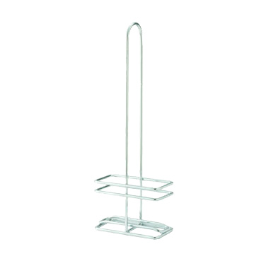 Winco WH-8 Oil/Vinegar Cruet Rack, for 8 oz. square bottles (GOB-8), chrome plated, fits model GOB-8