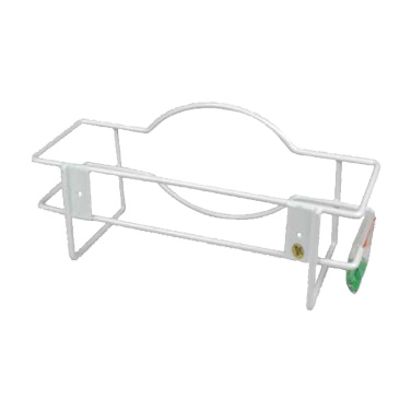 "Winco WHW-10 Glove Box Holder - 10"" x 3"" x 5"", Metal, White"