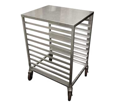 Winholt AL-1810H/SSTOP, 1/2 Size Pan Rack with removable stainless steel top