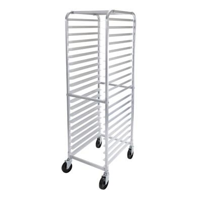 Winco ALRK-20 Mobile 20-Tier Aluminum Sheet Pan Rack