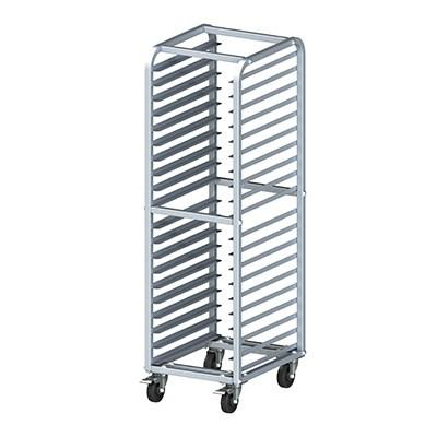 Winco AWRK-20HBK Mobile 20-Tier Welded Sheet Pan Rack, Aluminum