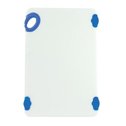 "Winco CBN-1218BU STATIKBoard™ Cutting Boards 12 x 18 x 1/2"" Thick, Blue"
