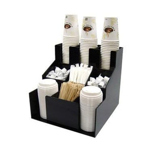 Winco CLSO-3T Cup & Lid Organizer, 3 Tiers, 3 Stacks