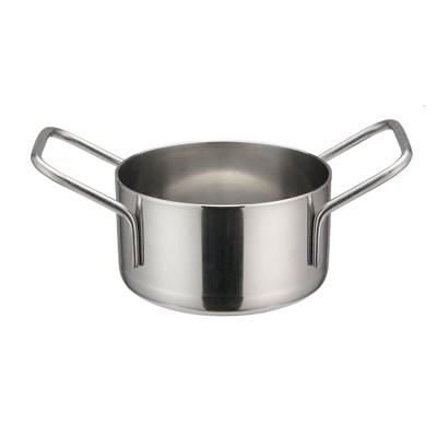 "Winco DCWE-102S Mini Casserole, Stainless Steel, 3-1/8"" Dia"