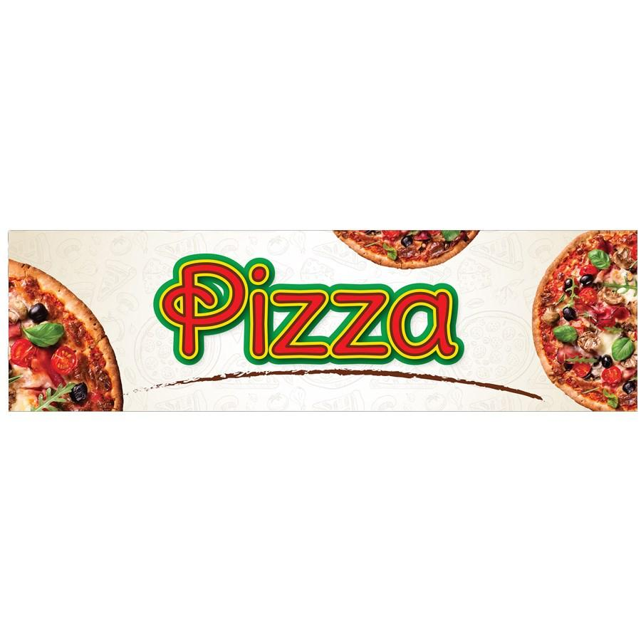 Winco EDM-2PZS Pizza Sign For EDM-2