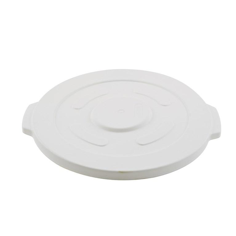 Winco FCW-32L Lid For White Container, 32 Gallon