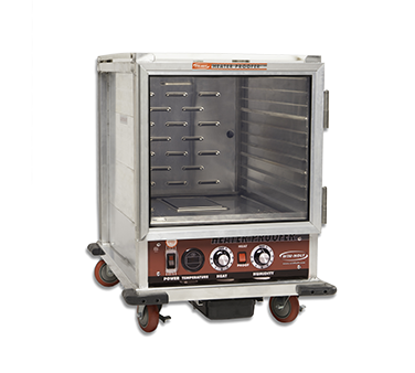"Winholt NHPL-1810/HHC Non-Insulated Heater/Proofer Cabinet, mobile, half height, 21""W x 30-3/4""D x 30-3/4""H, NEMA 5-15P, 14.0 amps, 1440 watts, 120v/60/1-ph, cETLus, NSF"
