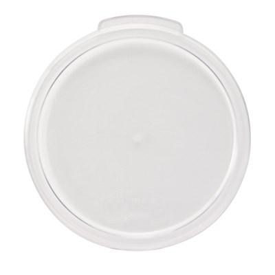 Winco PCRC-1C Clear Round Cover for PCRC-1