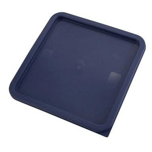 Winco PECC-128 Cover for Square Storage Container, 12 | 18 | 22 Qt, Blue