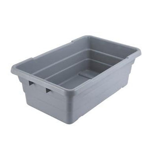 Winco PL-8 Nesting Lug Box, Gray