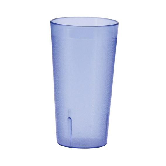 Winco PTP-09B Pebbled Tumblers, 9-1/2 Oz, Blue