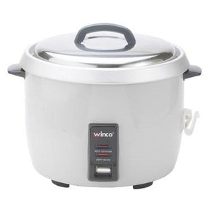 Winco RC-P300 Electric Rice Cooker, 30 cup uncooked rice capacity (60 cups cooked), 120v/50/60/1-ph, 14 amp, 1550 watts, ETL-Sanitation, cETLus