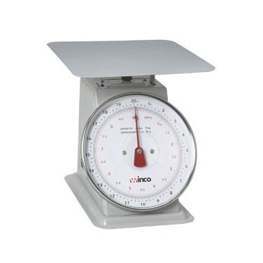 "Winco SCAL-820 Scale with 8"" Dial 20 Lb"