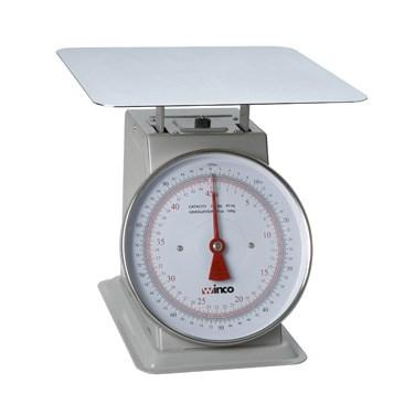 "Winco SCAL-9100 Scale with 9"" Dial, 100 Lb"