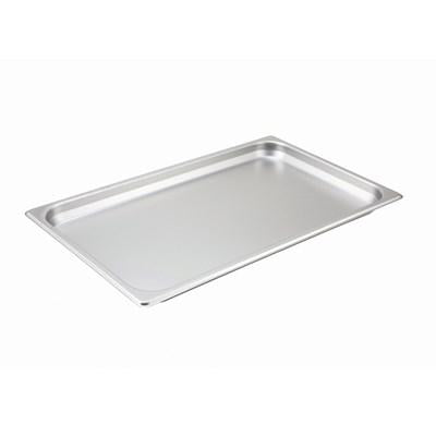 "Winco SPF1 Full Size Steam Pan 1-1/2"" Deep"
