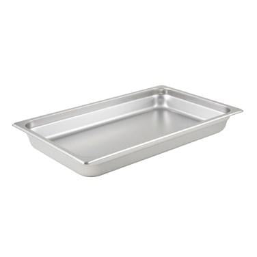 "Winco SPJP-102 Full Size Anti-Jam Steam Pan 2-1/2"" Deep"