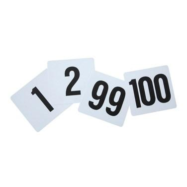 Winco TBN-100 Plastic Table Numbers, 1-100