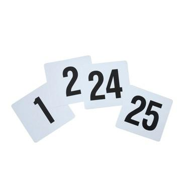 Winco TBN-25 Plastic Table Numbers, 1-25