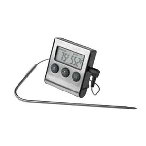 Winco TMT-DG6 Digital Roasting Thermometer with Timer & Probe