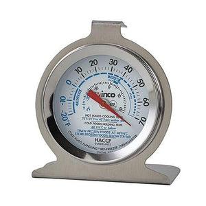 Winco TMT-RF2 Refrigerator/Freezer Thermometer, 2""
