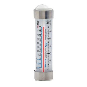 Winco TMT-RF4 Refrigerator/Freezer Thermometer, Suction Cup