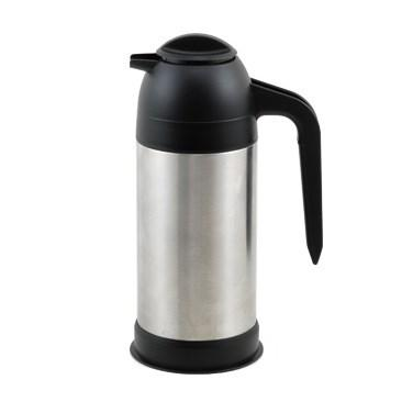 Winco VSS-24 Vacuum Insulated Coffee/Cream Server, Stainless Steel, 24 Oz