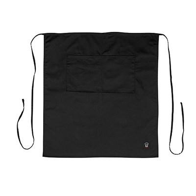Winco WA-3129BK Bistro Full Length Apron, Black