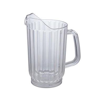 Winco WPC-48 Water Pitcher, 48 Oz, Polycarbonate, Clear