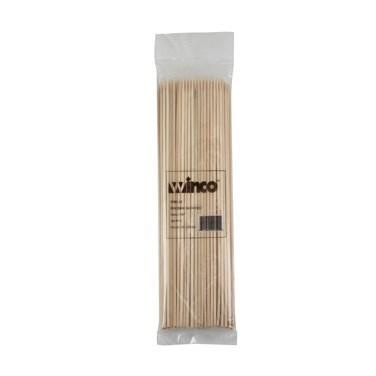 "Winco WSK-10 Skewers, 10"", Bamboo"