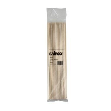 "Winco WSK-12 Skewers, 12"", Bamboo"