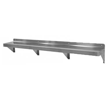"GSW WS-W1272 Shelf, wall-mounted, 72""W x 12""D x 10""H"