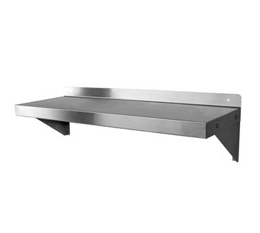 "GSW WS-W1424 Shelf, wall-mounted, 24""W x 14""D x 11""H, holds up to 250 lb. capacity"