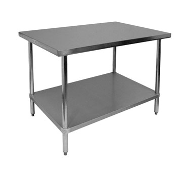 "GSW WT-P3030 Premium Work Table, 30""W x 30""D x 35""H"