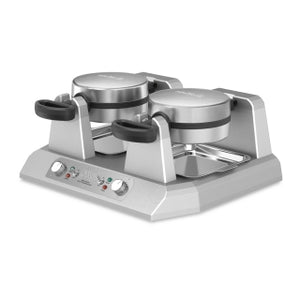 Waring WW250X Double Side by Side Commercial Belgian Waffle Maker, 120V