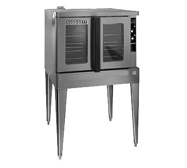 Blodgett Oven ZEPH-200-G-ES Zephaire Bakery Depth Double Full Size Natural Gas Convection Oven - 50,000 BTU