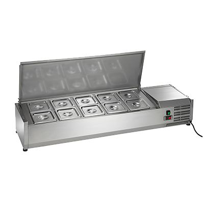 Arctic Air ACP55 Refrigerated Countertop Prep Unit, 115v/60/