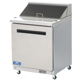 Arctic Air AMT28R Refrigerated Mega Top Sandwich/Salad Prep Table
