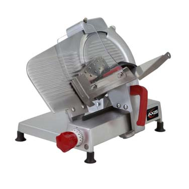 "Axia AX-S10 ULTRA Food Slicer, Manual, 10"" Dia. Blade, 0.33 HP, 120v/60/1-ph"