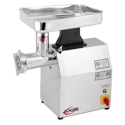 Axis AX-MG12 Meat Grinder, #12 hub, 170 rpm, 1 HP, 115v/60/1-ph