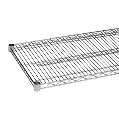 "Thunder Group CMSV2472 Wire Shelving, 24"" x 72"", chrome plated finish, NSF"