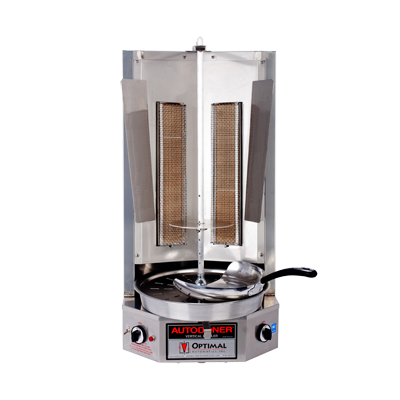 Optimal Automatics G300 Autodoner® Vertical Broiler (Gyro) - Gas, 45 Lbs. Capacity
