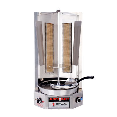 Optimal Automatics G500 Autodoner® Vertical Broiler (Gyro) - Gas 85 Lbs. Capacity