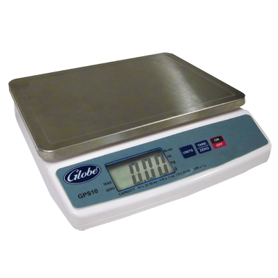 Globe GPS10-4 Portion Control Scale, digital, 11 lbs. capacity