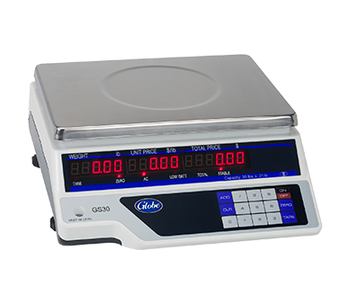 Globe GS30 Price Computing Scale, legal for trade, 115v/60/1-ph